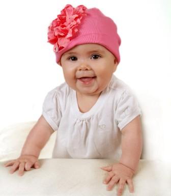 Candy Pink Geranium Flower Hat
