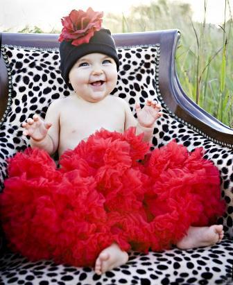 Black & Red Rose Flower Hat