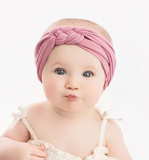 Choose Color - Sailor Knot Braided Nylon Headwrap Headband