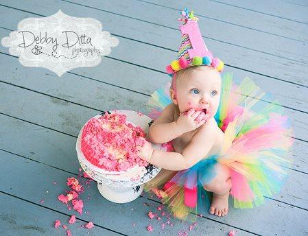 Candy Rainbow Colorful Tutu