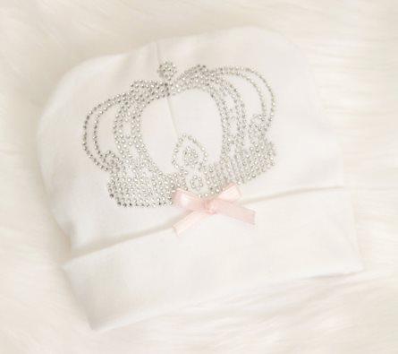 Infant Baby Girl Royal Princess Beanie Hat Cotton Hat