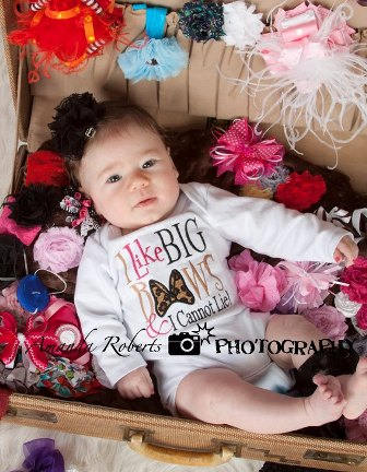 I Like Big Bows Infant Onesie