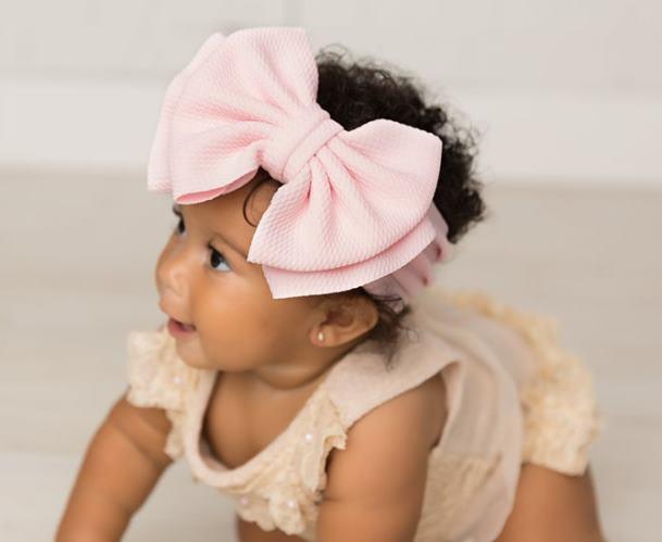 Choose Color - Big Bow Headwrap Headband