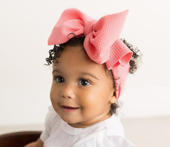 Choose Color - Big Oversized Bow Turban Headbwrap Headband