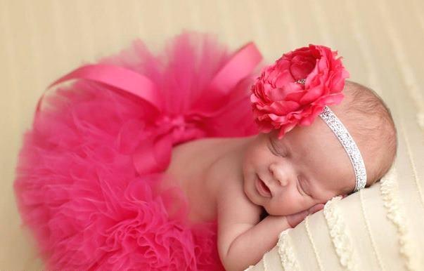 Poofy Hot Pink Baby Girl Tutu