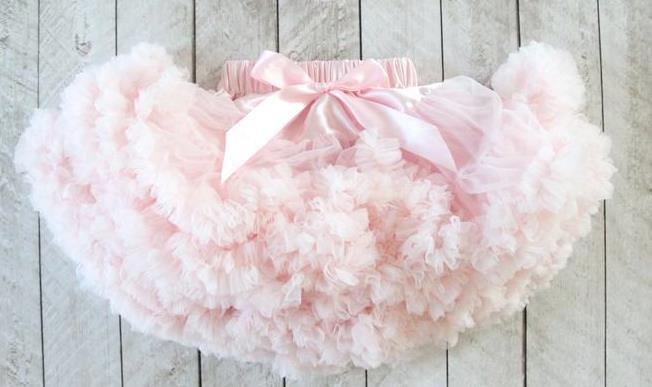 Light Pink Fluffy Baby Pettiskirt