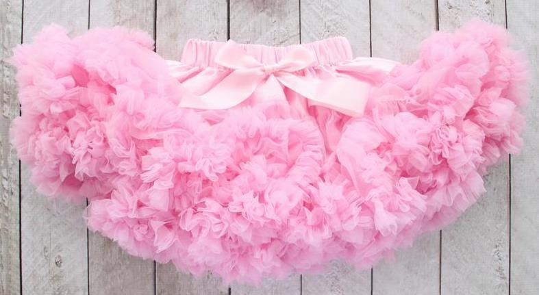 Pink Fluffy Baby Pettiskirt