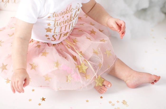 Initial Bodysuit Onesie Personalized Baby Girl Gift Rose Gold First Birthday Outfit Baby girl