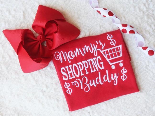 Mommy's Shopping Buddy Bodysuit