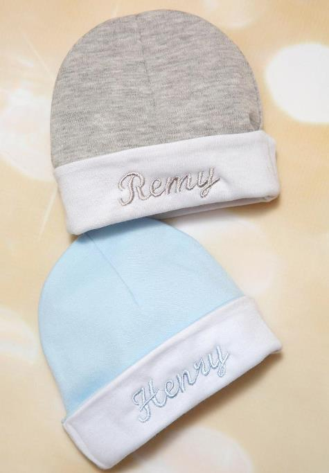 Baby Boys Personalized Cotton Hat