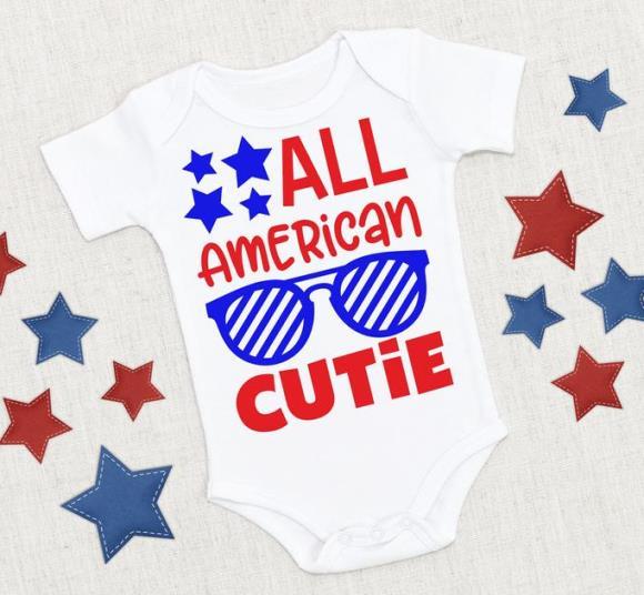 All American Cutie Bodysuit