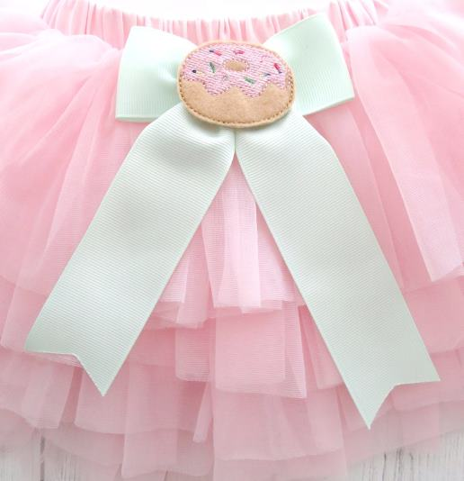 Sweet One Donut 1st Birthday Personalized Tutu Outfit