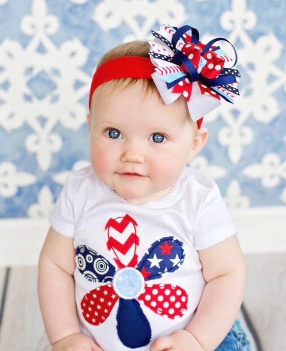 American Girl Frayed Flower Bodysuit