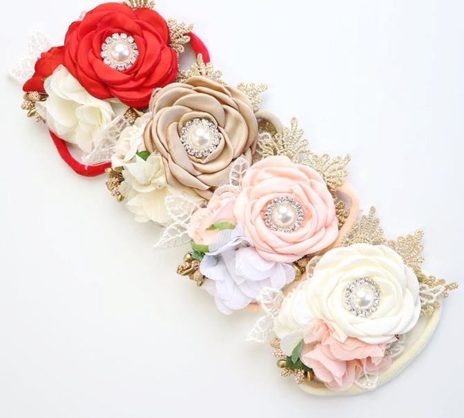 Choose Color - Couture Flower Headband