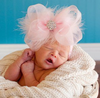 Oversized Baby Hair Bows