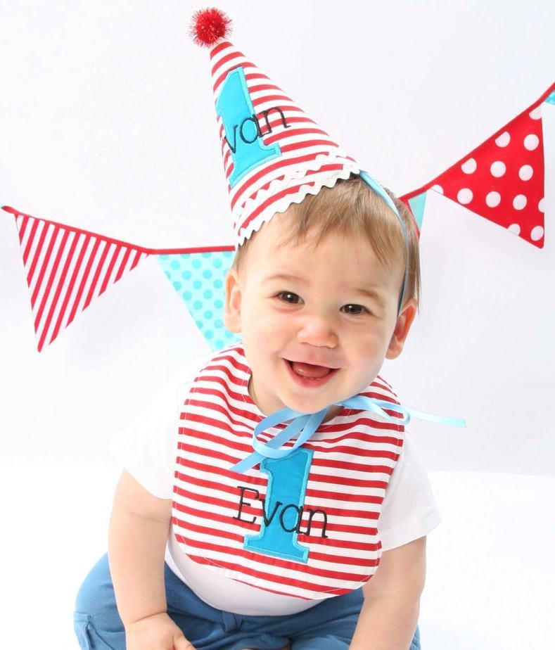 Birthday Hats & Bibs